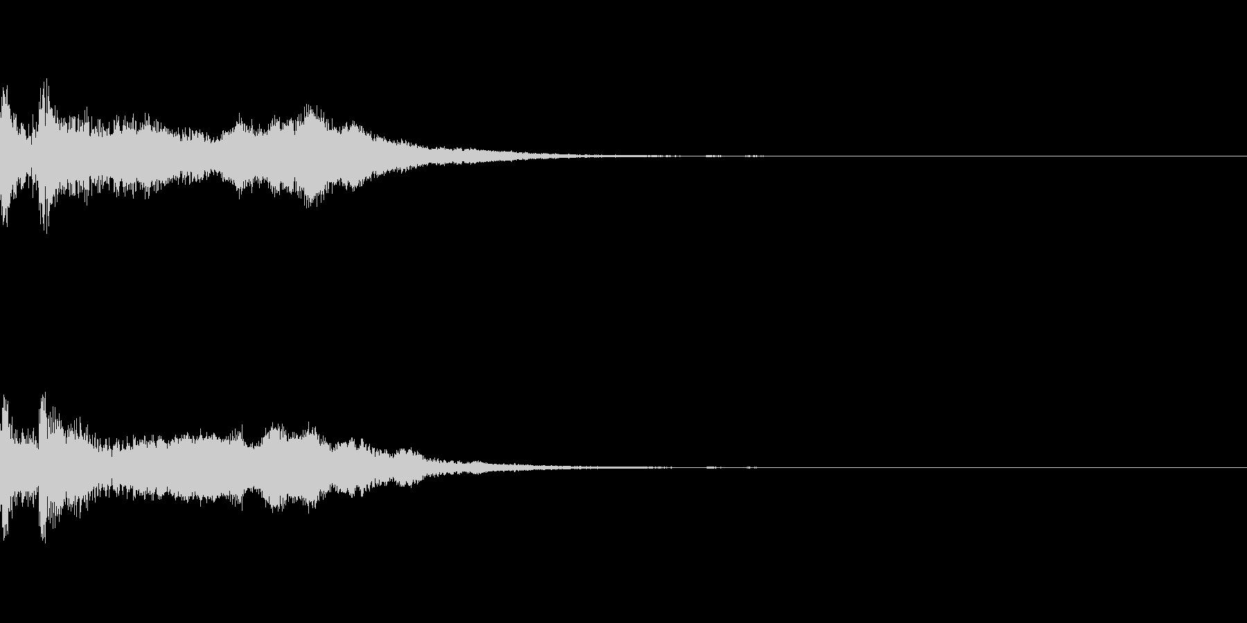 ミステリー系導入音_その12の未再生の波形