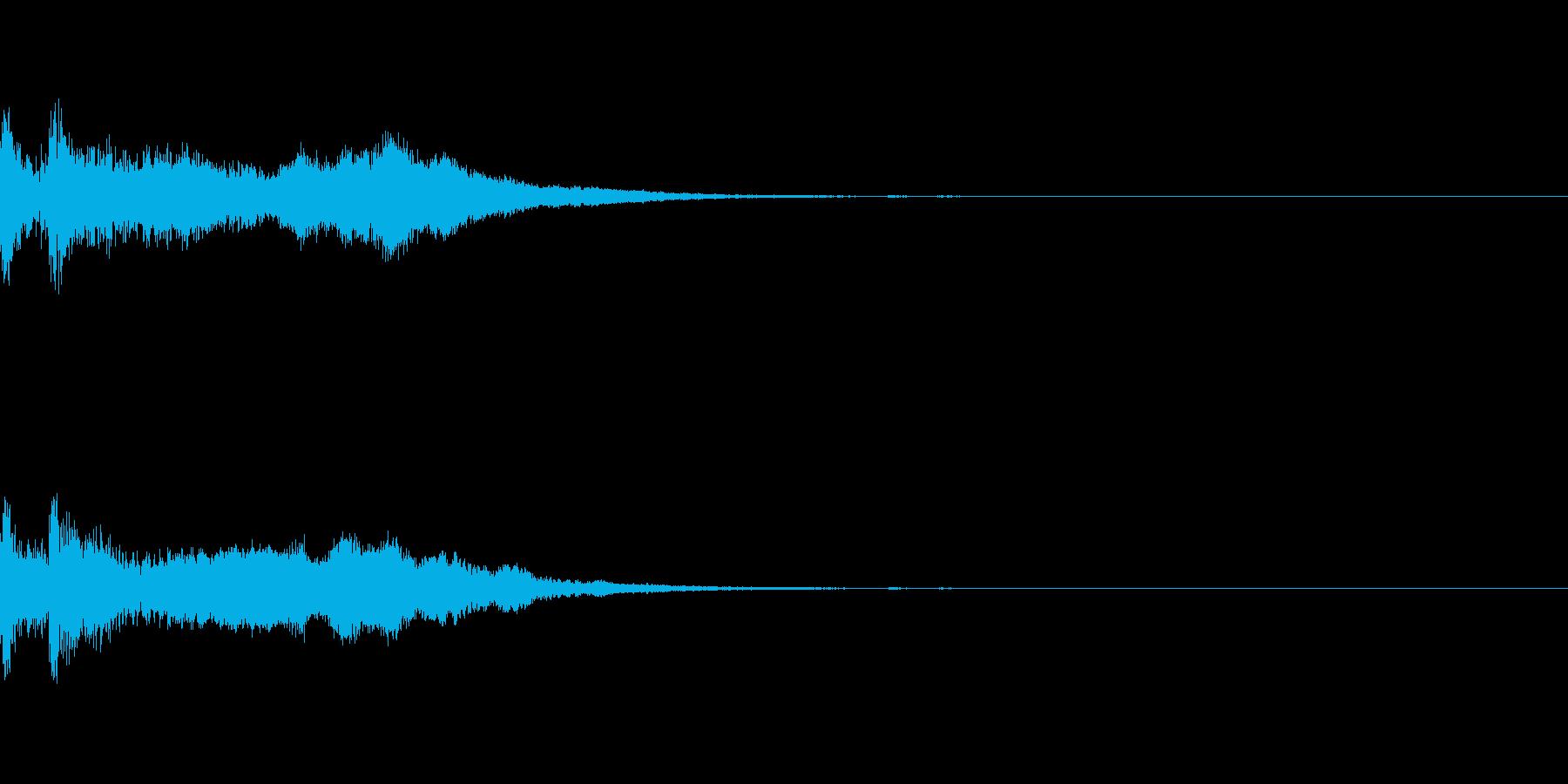 ミステリー系導入音_その12の再生済みの波形