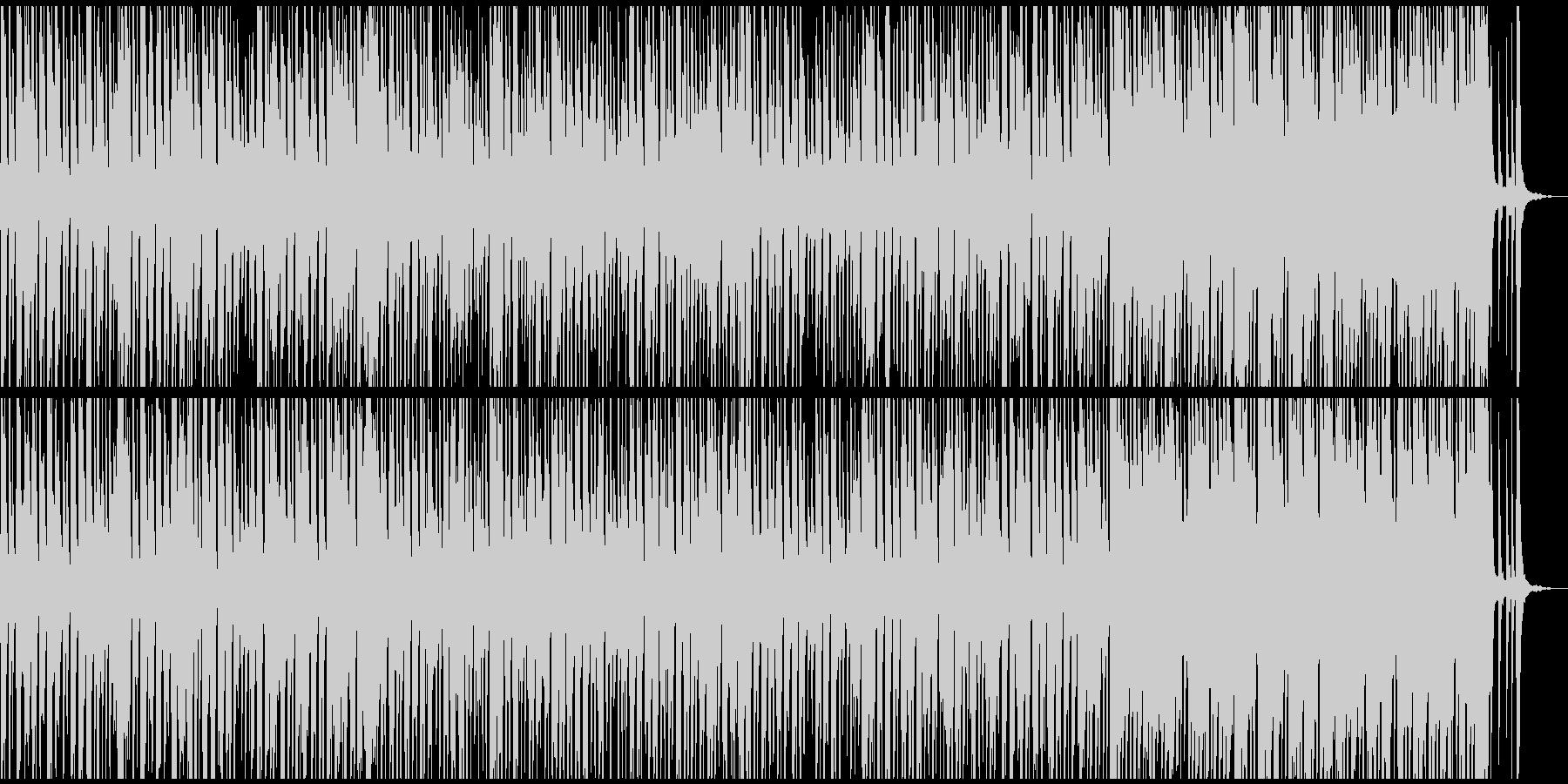 ジプシースイングスタイルの魅力的ジャズの未再生の波形