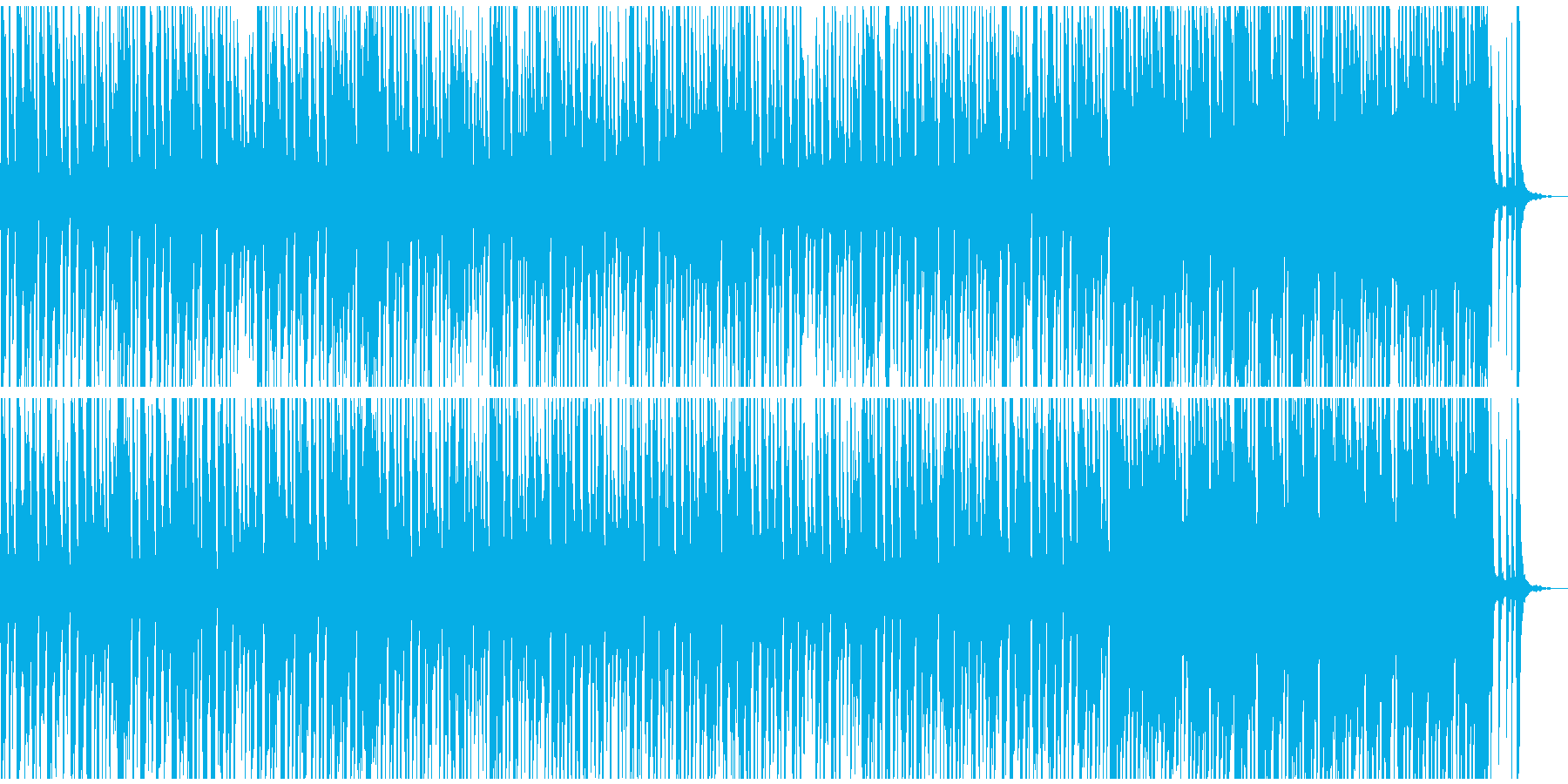 ジプシースイングスタイルの魅力的ジャズの再生済みの波形