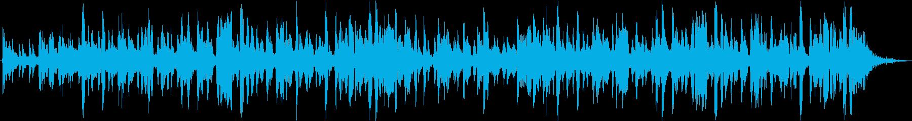 チャンプルーをテーマにした楽曲の再生済みの波形