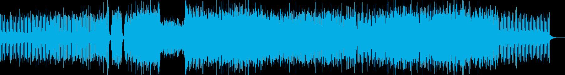 ドライブに聞きたいエレクトロサウンドの再生済みの波形