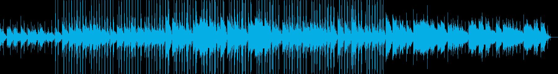 優しいChill Hip Hopピアノ曲の再生済みの波形
