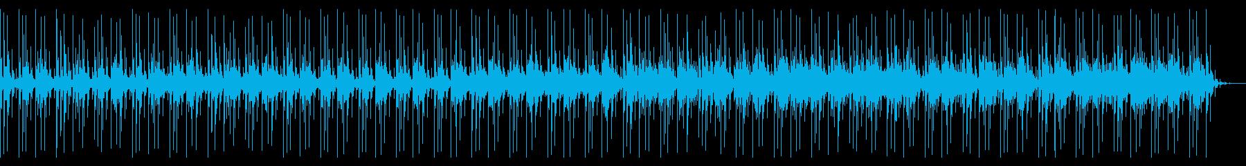 超シンプル!暗さと明るさを感じるBGMの再生済みの波形