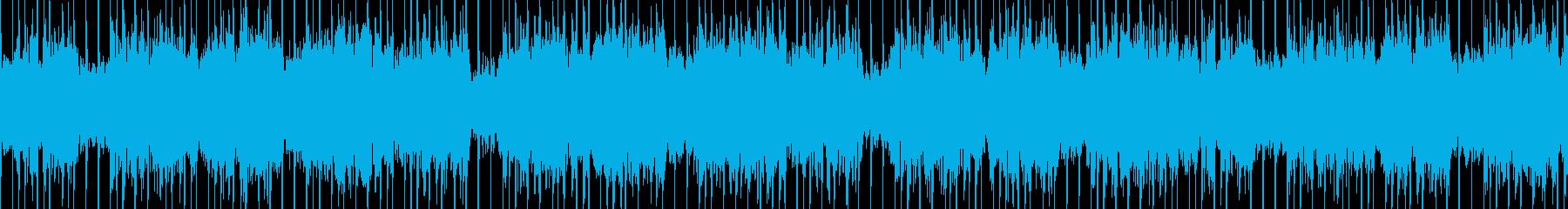 アグレッシブなジャングルハウス。ループ可の再生済みの波形