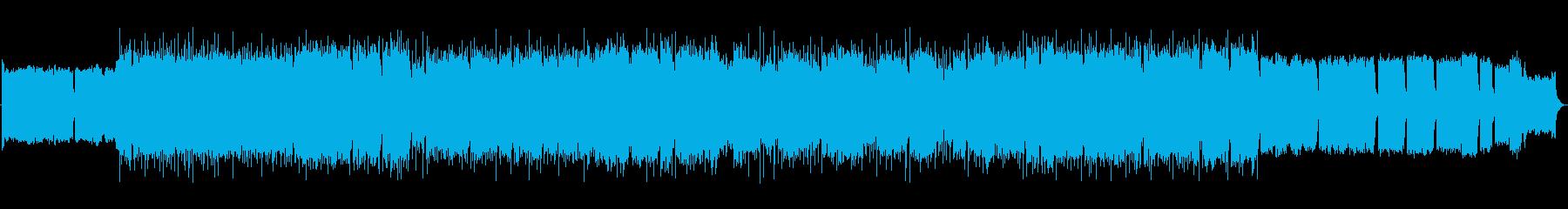 ビーチボーイズ風コーラスのサーフロックの再生済みの波形