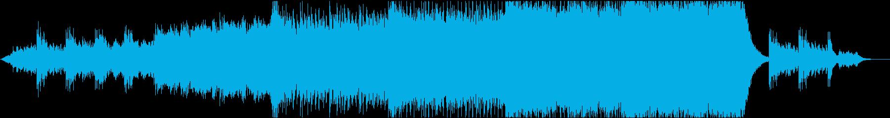 開放感たっぷり 壮大 シネマチックポップの再生済みの波形