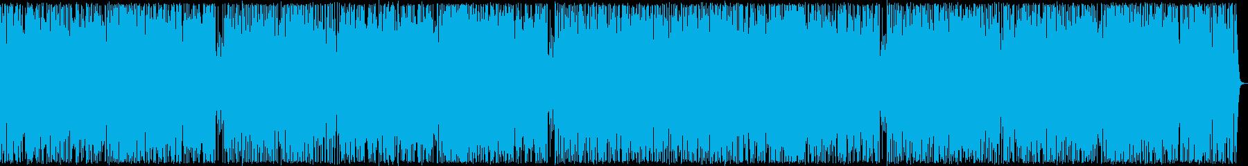 ジャジーなリゾートサウンドの再生済みの波形