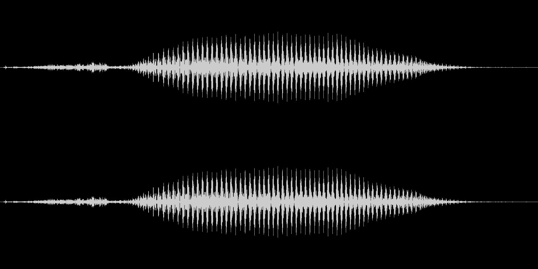 韓国語「사(サ)」(4) 女性 の未再生の波形