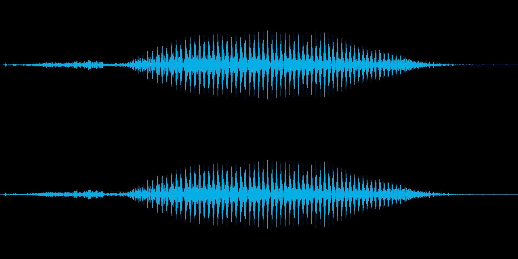 韓国語「사(サ)」(4) 女性 の再生済みの波形