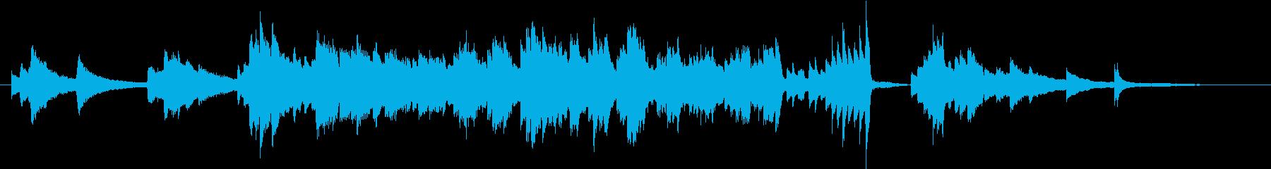 切ないのピアノの再生済みの波形