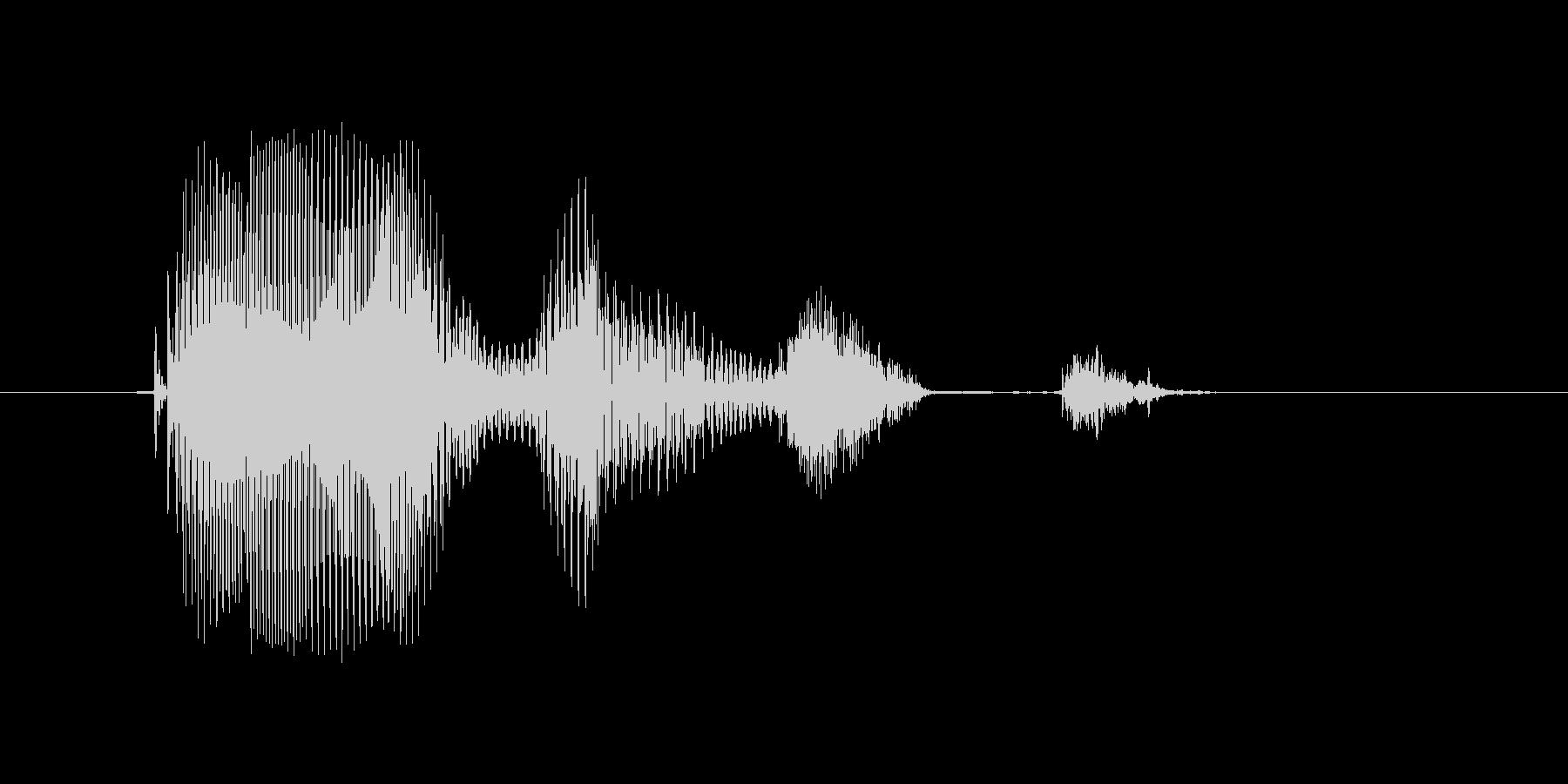 AUGUST(オーガスト・August…の未再生の波形