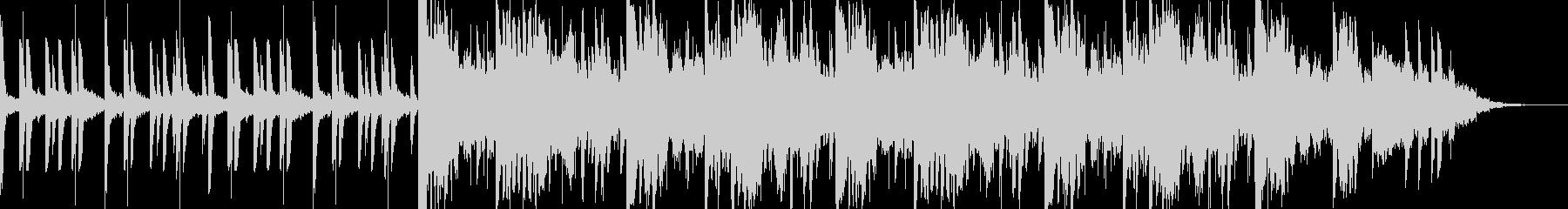 ベッドルームmusic③(チルアウト)の未再生の波形