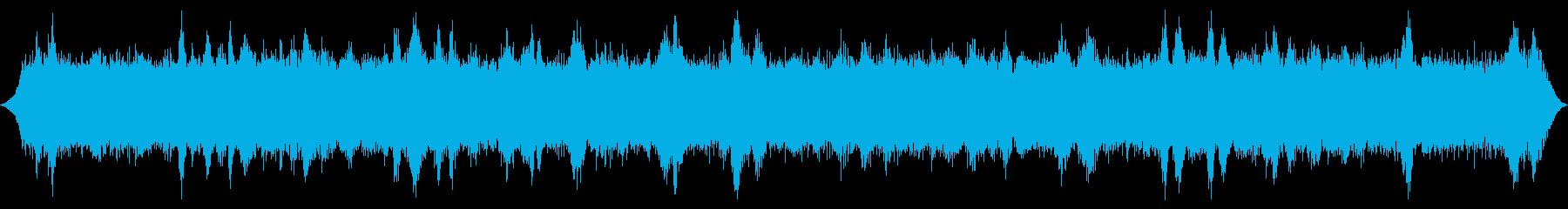ヘビーガスティストームまたはフォレ...の再生済みの波形