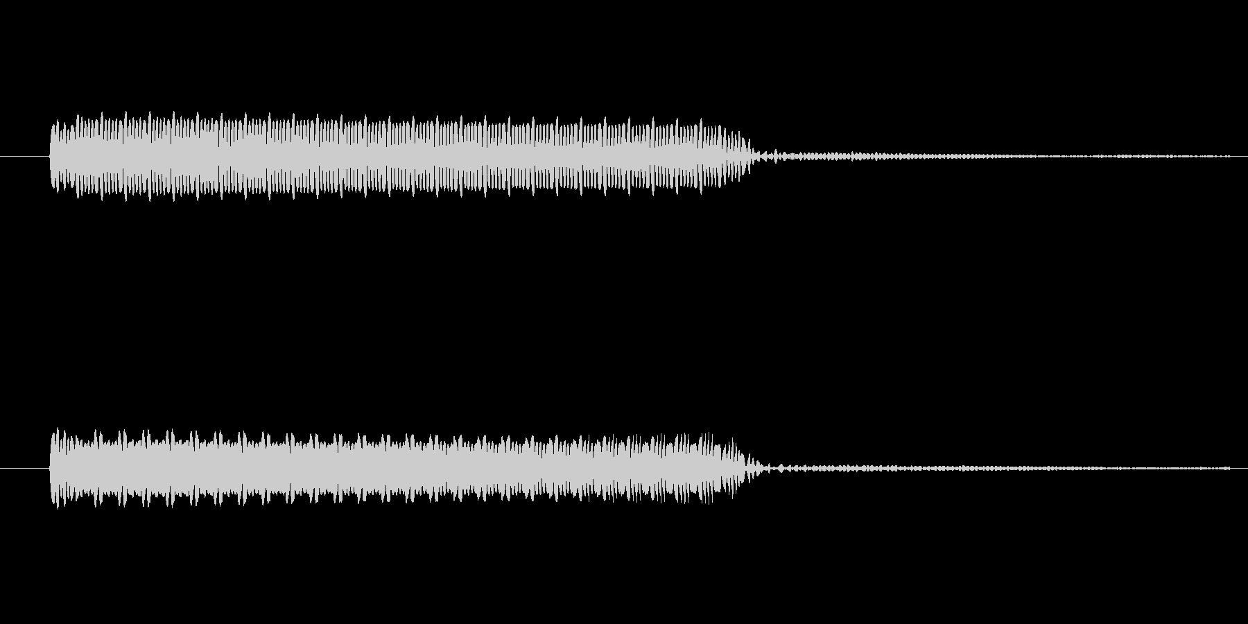 ゲーム、クイズ(ブー音)_010の未再生の波形