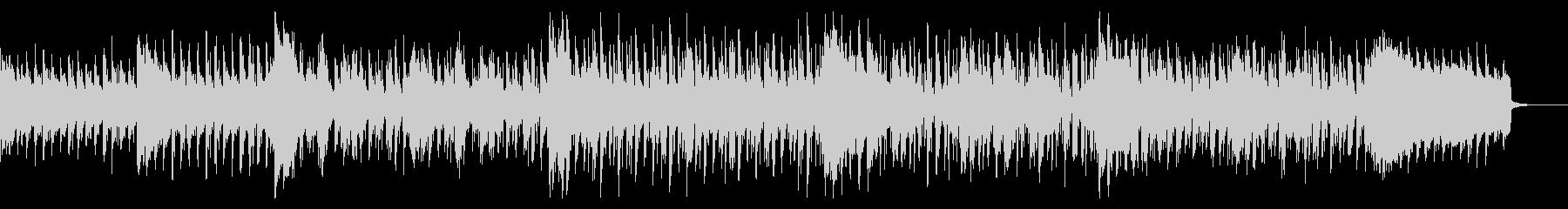 サスペンシブでダークなBGMの未再生の波形