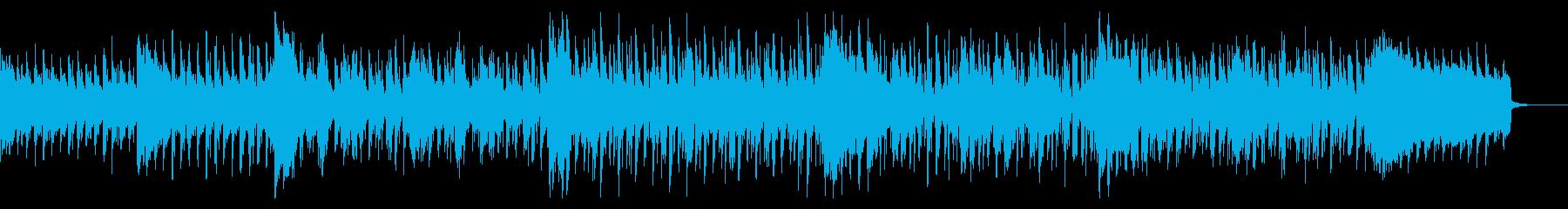 サスペンシブでダークなBGMの再生済みの波形