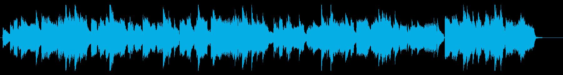 心に寄り添うような曲_ヘッケルフォン改の再生済みの波形