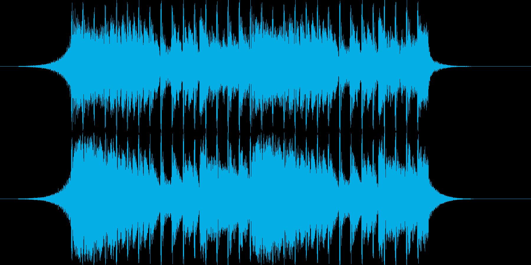 【爽やか】企業VP,軽快でPOPなBGMの再生済みの波形