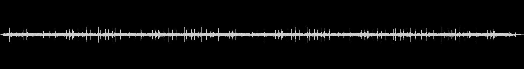 【スズメ 生録 環境01-2】の未再生の波形