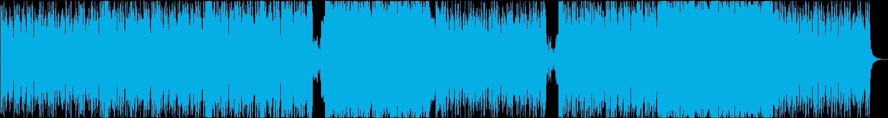 戦闘・決戦シーンっぽい壮大なオーケストラの再生済みの波形