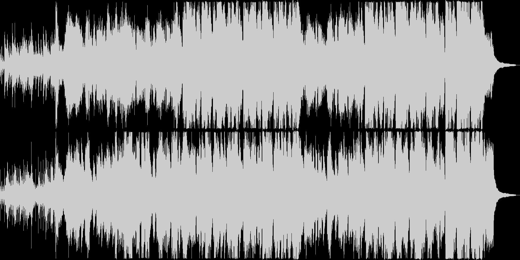 3種類の笛で奏でる100年以上前の伝承曲の未再生の波形