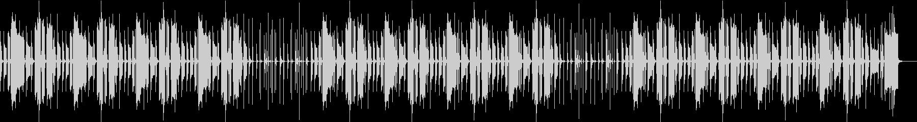ほのぼのした日常の楽曲 劇伴の未再生の波形