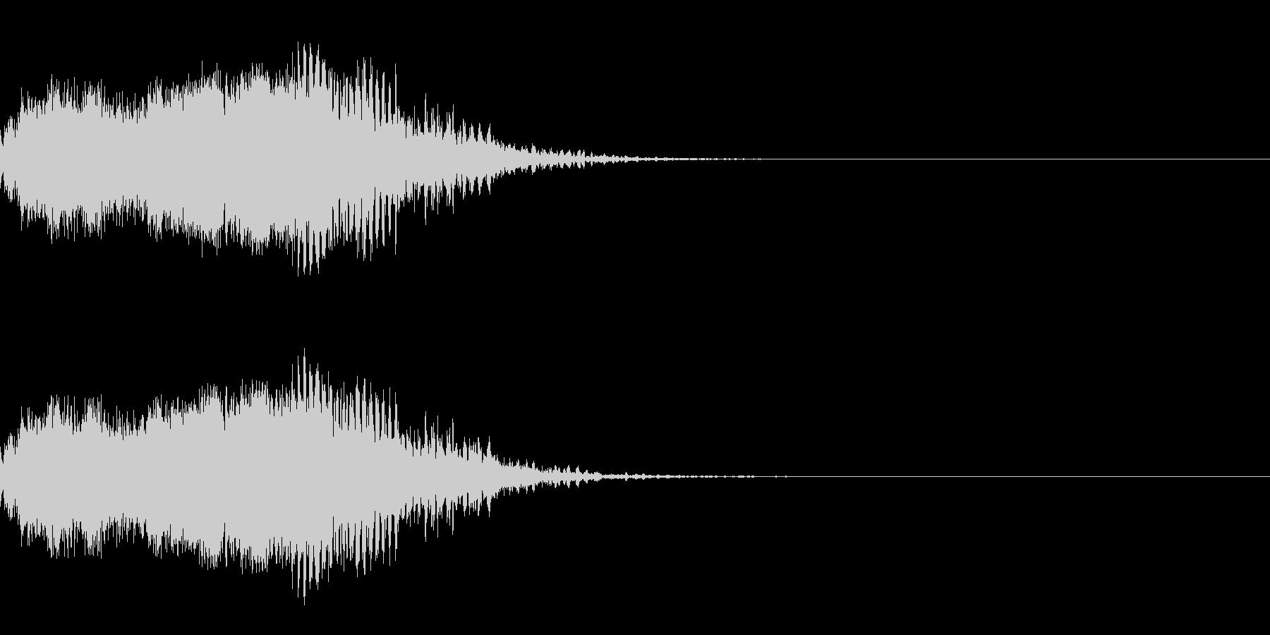 スパーク音-08の未再生の波形