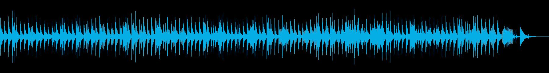 しっとりお洒落なジャズバラードBGMの再生済みの波形