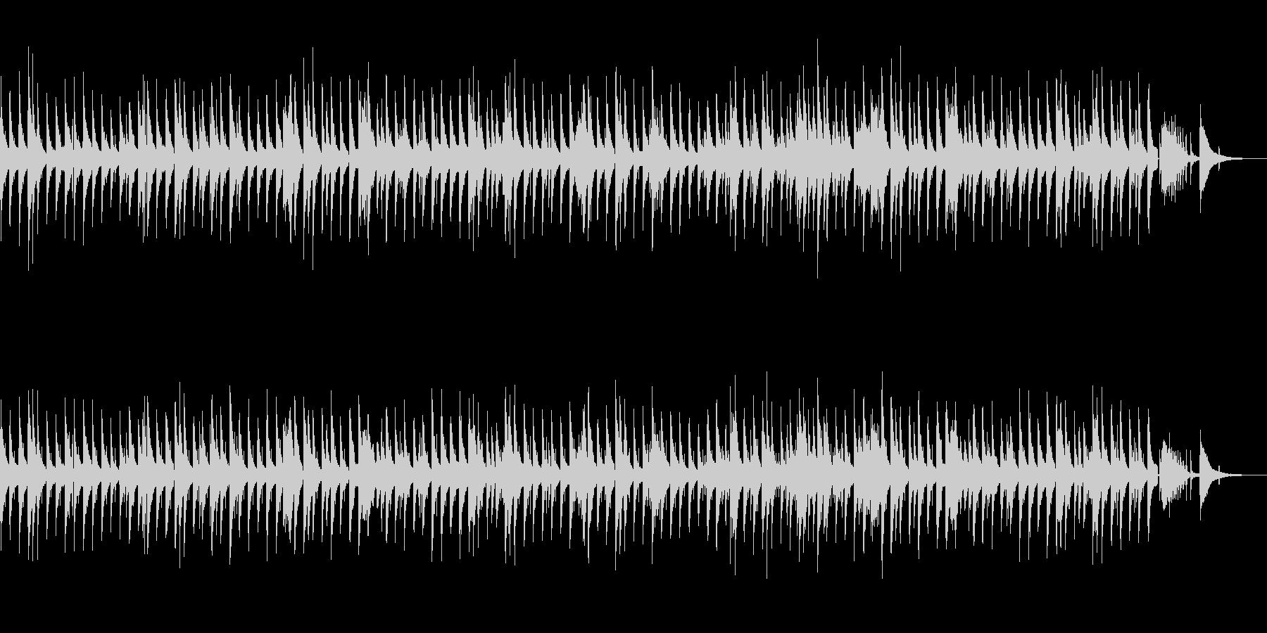 おしゃれで大人なジャズバラードBGMの未再生の波形