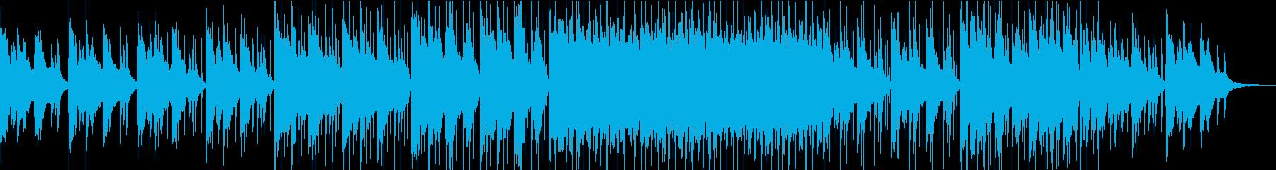 ピアノのイントロが爽やかなポップスの再生済みの波形