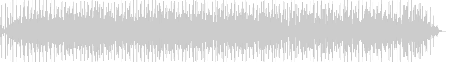 不思議ギター音入りのエレクトロBGMですの未再生の波形