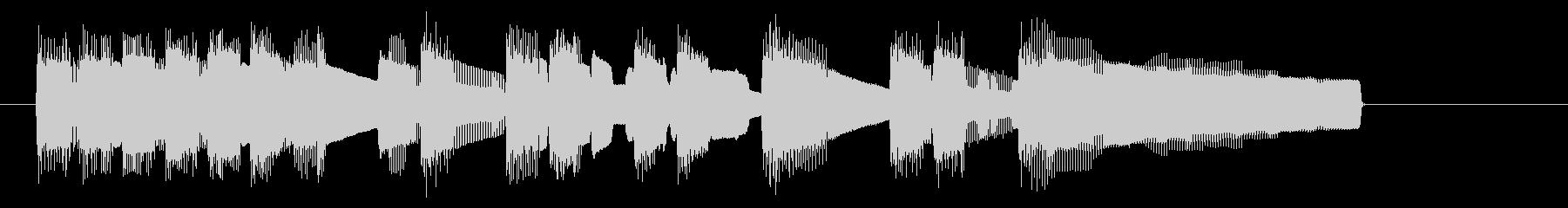 NES アクションD09-1(クリア1)の未再生の波形