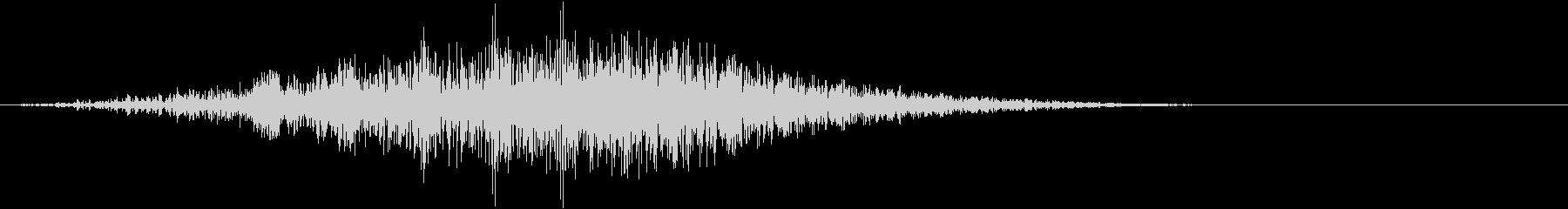 シュイーン(上昇音 ステータスアップ)の未再生の波形