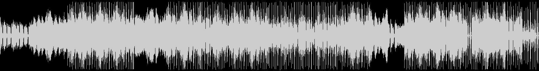 ピアノのゆったりとLo-fiなサウンドの未再生の波形