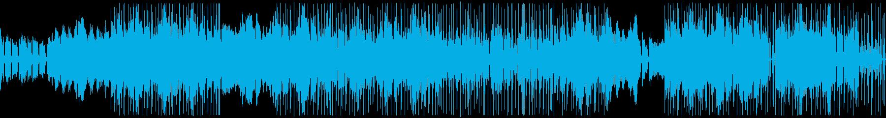 ピアノのゆったりとLo-fiなサウンドの再生済みの波形