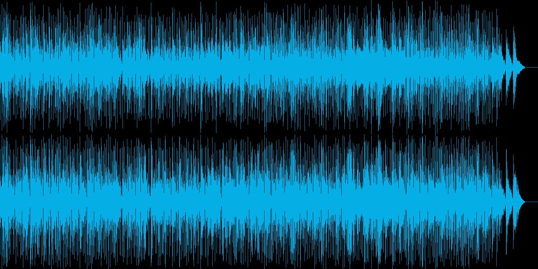 まったりした癒されるメロディーの再生済みの波形