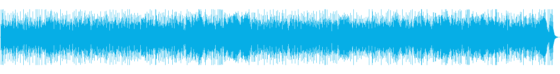 爽やかなリズムのポップスの再生済みの波形