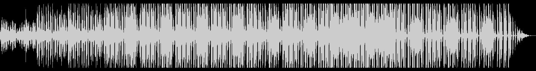 温かみのあるレゲエの未再生の波形