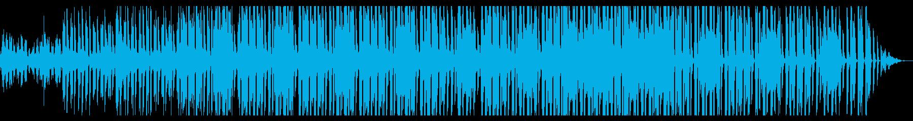 温かみのあるレゲエの再生済みの波形