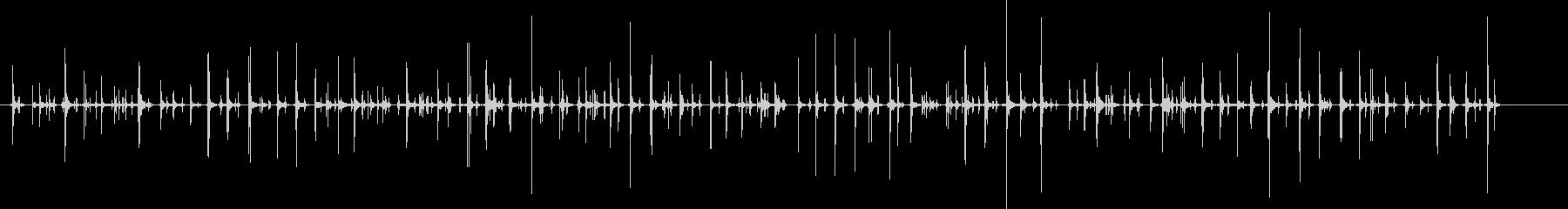 チャチャ..。PCタイピング音(高・長)の未再生の波形