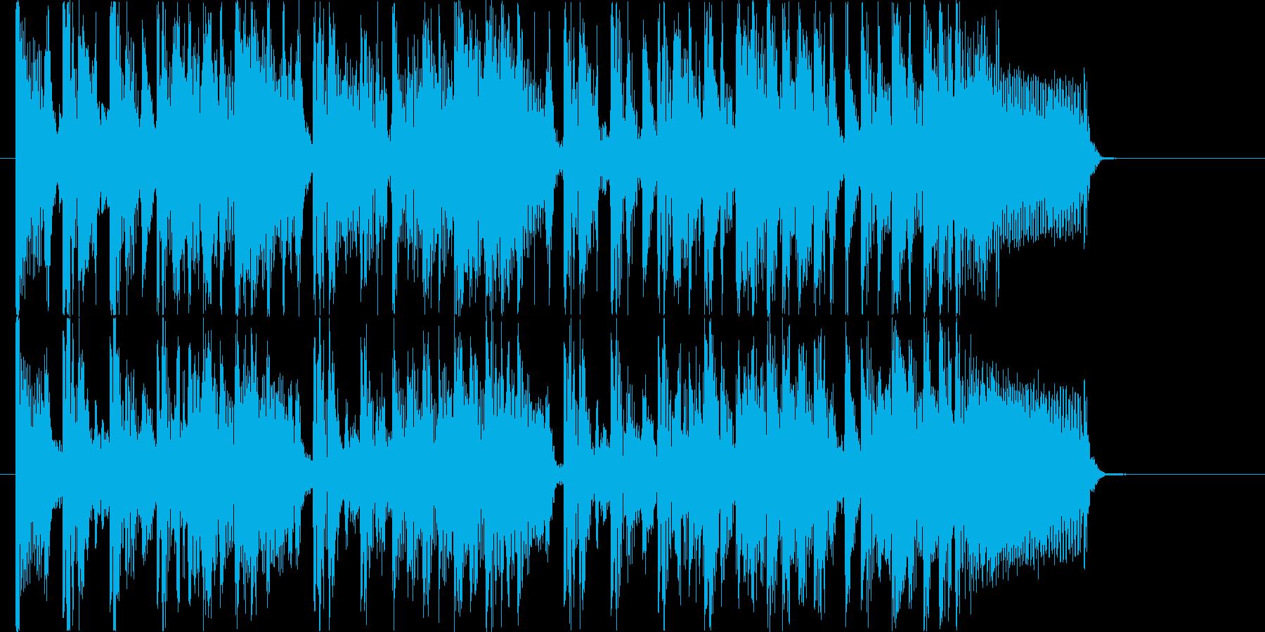 クール!グルーヴィ!ファンク!の再生済みの波形