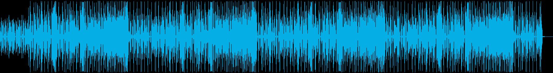 かわいいほのぼのBGMの再生済みの波形