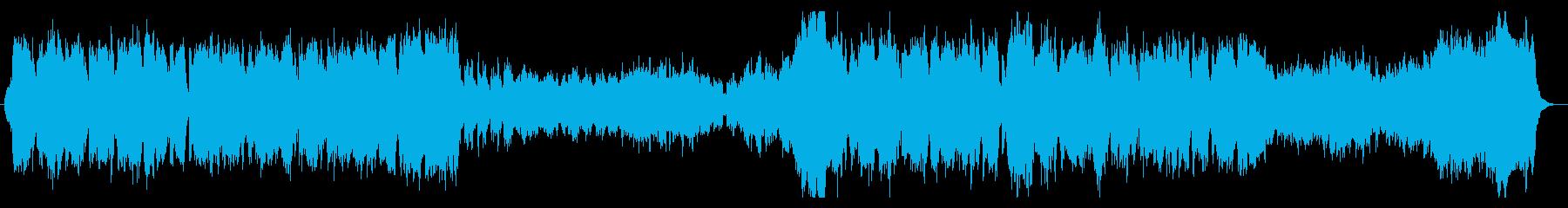 物語の始まりを感じるRPG風オーケストラの再生済みの波形