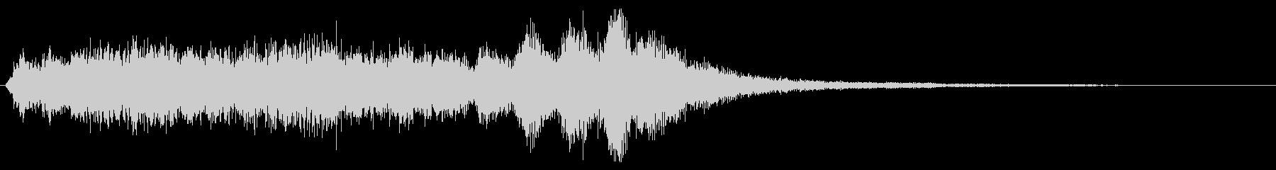 バイオリン系の場面転換 CMイン 切替の未再生の波形