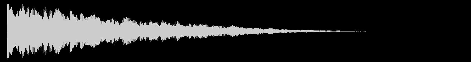 キラーン/決定/星_04の未再生の波形