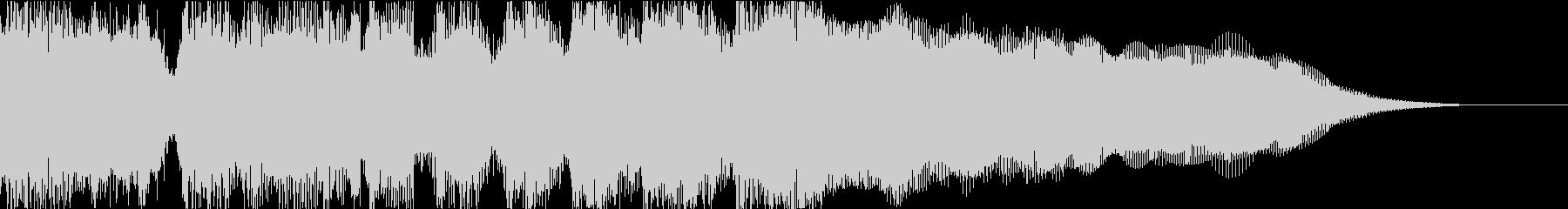 オールドロック、ブルージーなジングルの未再生の波形