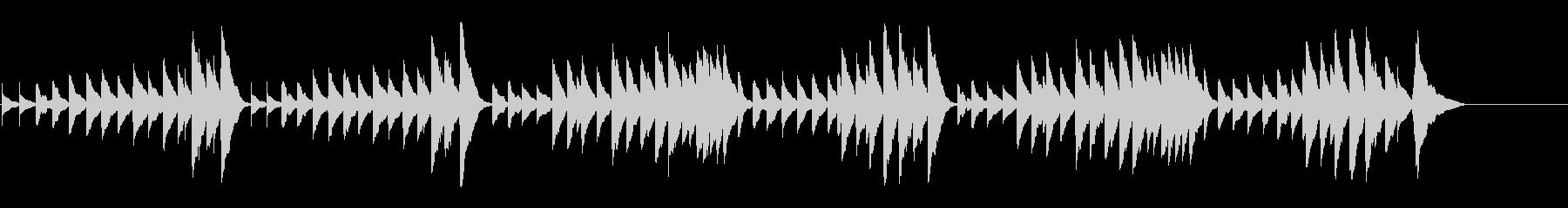 キラキラ星変奏曲(Var Ⅸ)オルゴールの未再生の波形