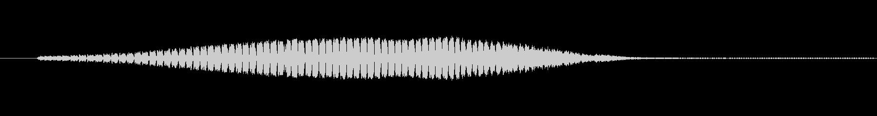 スペースエイリアン電子の未再生の波形