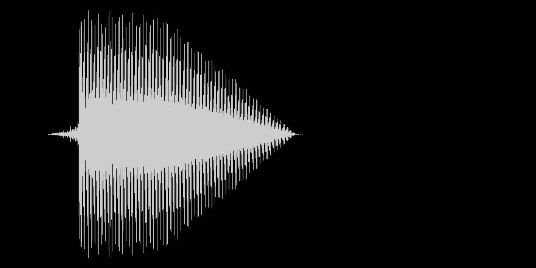 ゲーム(ファミコン風)セレクト音_045の未再生の波形